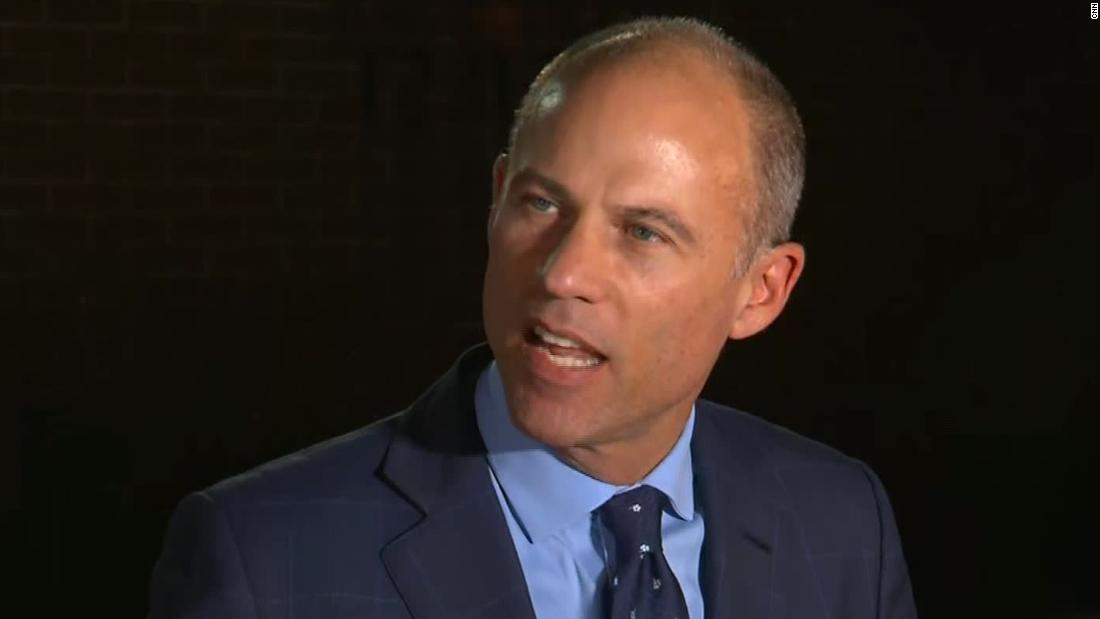 How Michael Avenatti's flash-in-the-pan celebrity perfectly fit Trump's Washington
