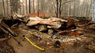 Hundreds are still missing from California's Camp Fire