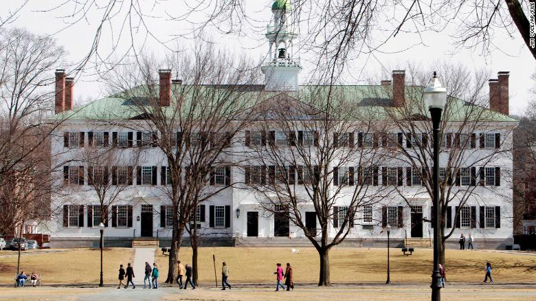 Lawsuit against Dartmouth professors