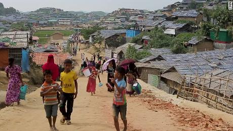 Rohingya refugees fear returning to Myanmar