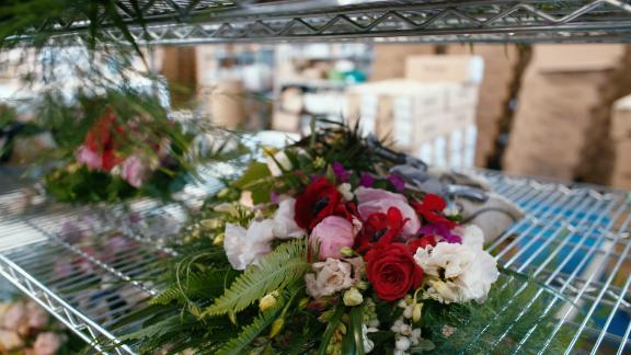 A key mission of Farmgirl Flowers is to help reduce waste in the floral industry.