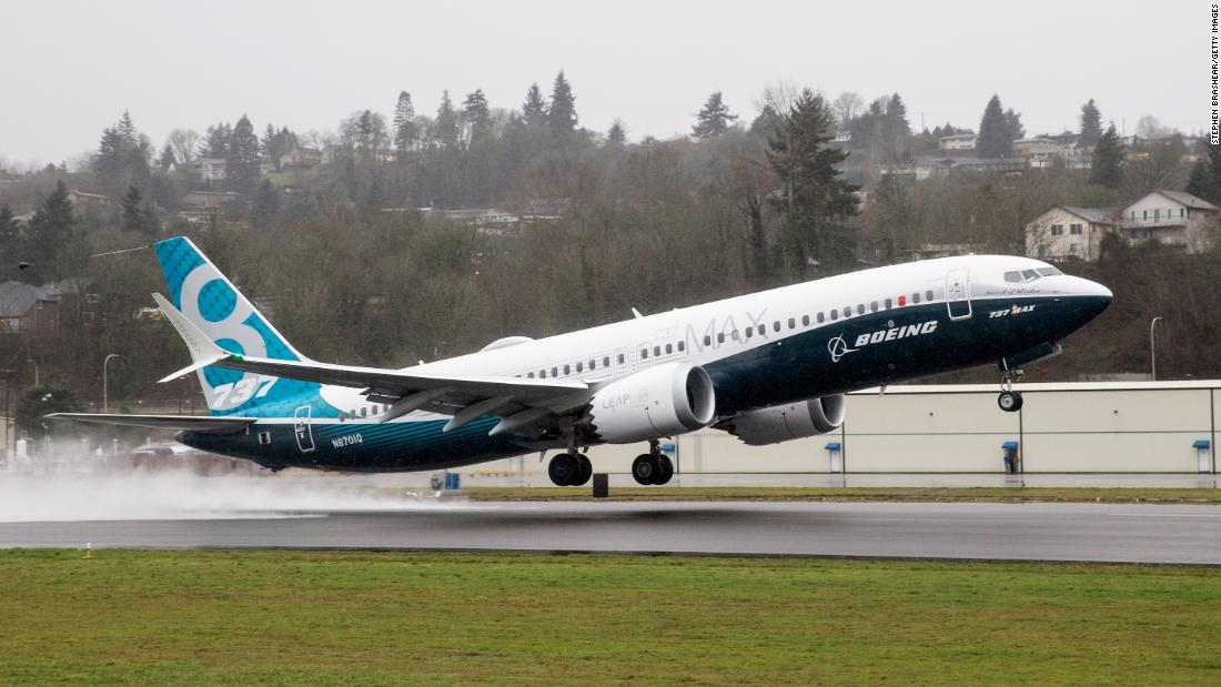 United Airlines will cancel more Boeing 737 Max flights