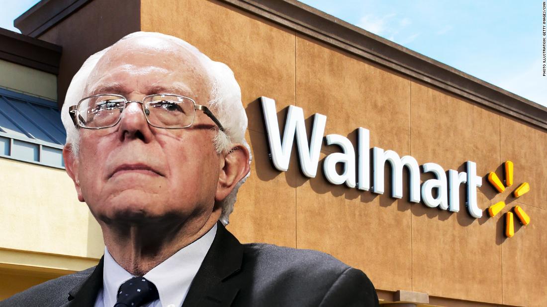Bernie Sanders unveils Stop Walmart Act