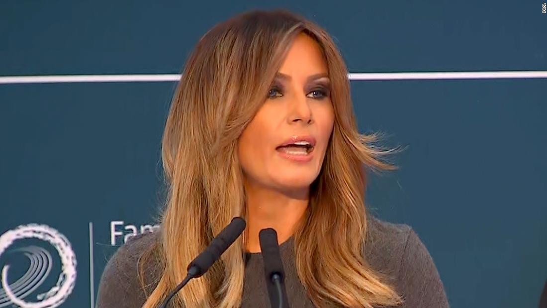 Melania Trump is not surprised by cyberbullying initiative 'ridicule'