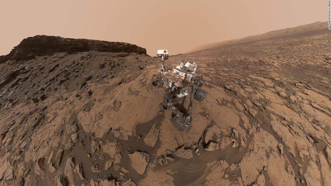 Rovers can take selfies, too. This self-portrait of the Curiosity Mars rover shows the vehicle at the Quela drilling location in the Murray Buttes area on lower Mount Sharp.