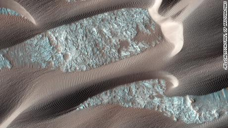 Nili Patera is a region on Mars in which dunes and ripples are moving rapidly. HiRISE continues to monitor this area every couple of months to see changes over seasonal and annual time scales.