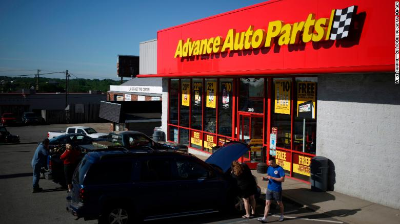 Advance Auto Parts has bult out a rapid logistics network to meet customers' parts needs.