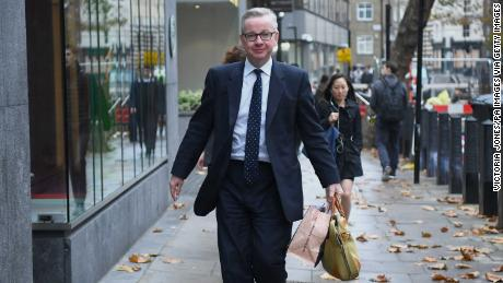 Michael Gove has publicly backed May.