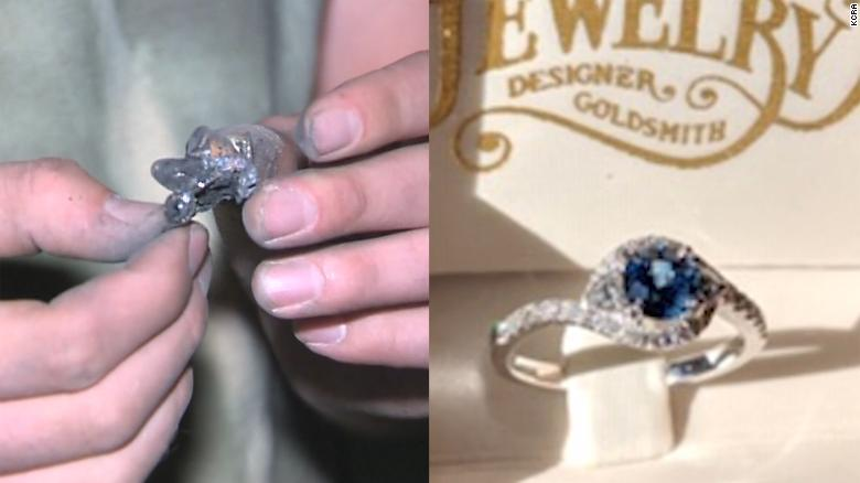 The Camp Fire Burned Down His Home But Left Behind The Engagement
