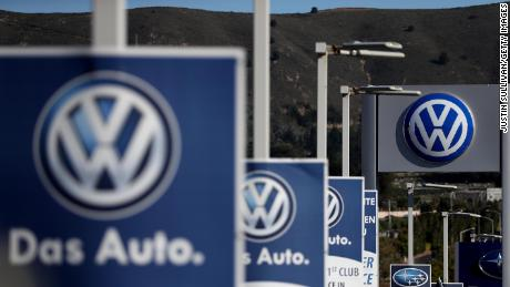 The SEC is accusing Volkswagen and its former CEO of 'massive fraud'