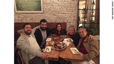 The Ghaisar family. From left: Bijan Ghaisar, Kouros Emami, Negeen Ghaisar, Kelly Ghaisar, James Ghaisar
