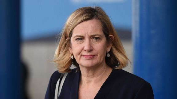 Amber Rudd, pictured in October, rejoins the Cabinet after resigning as Home Secretary in April.