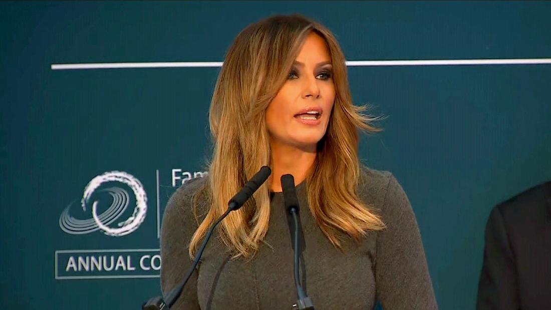 Melania Trump's spokeswoman speaks out
