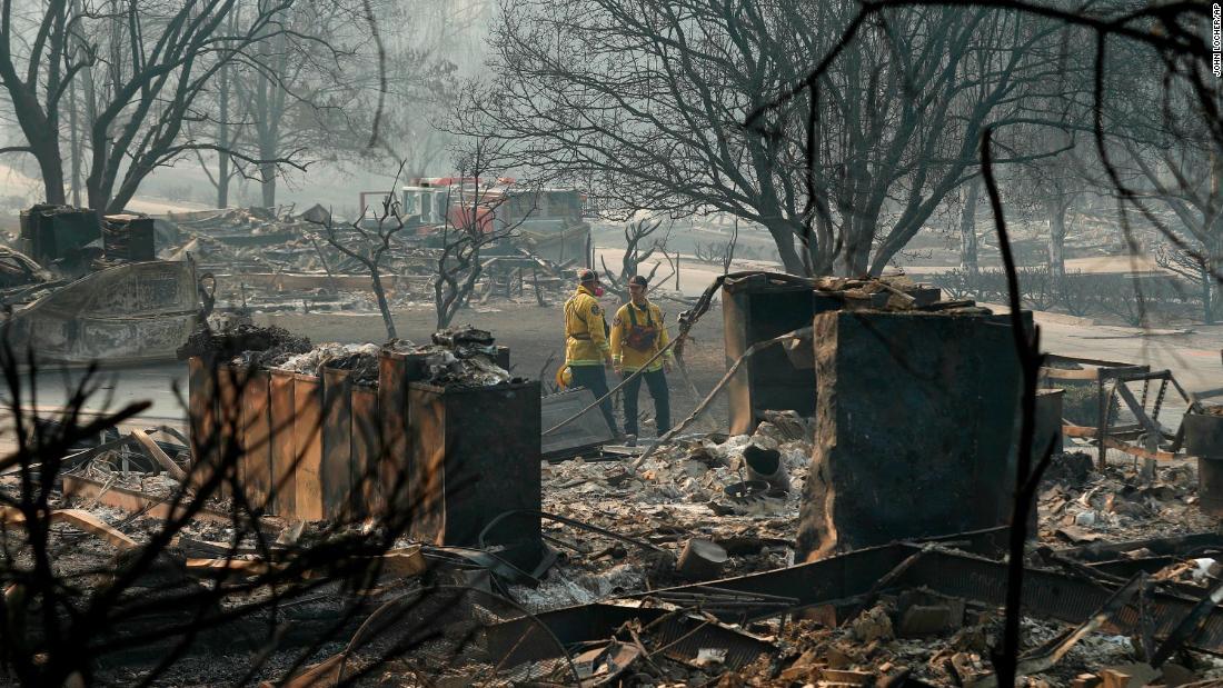 Zinke rips 'radical environmental groups' over California fires