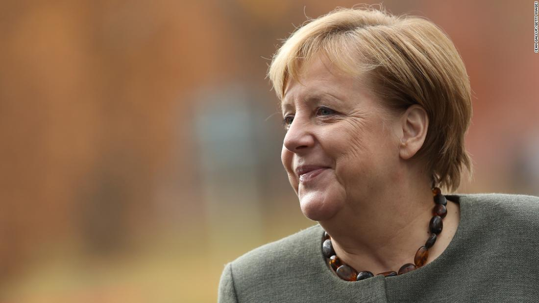 'I'm really enjoying this!' Relaxed Merkel rediscovers her voice