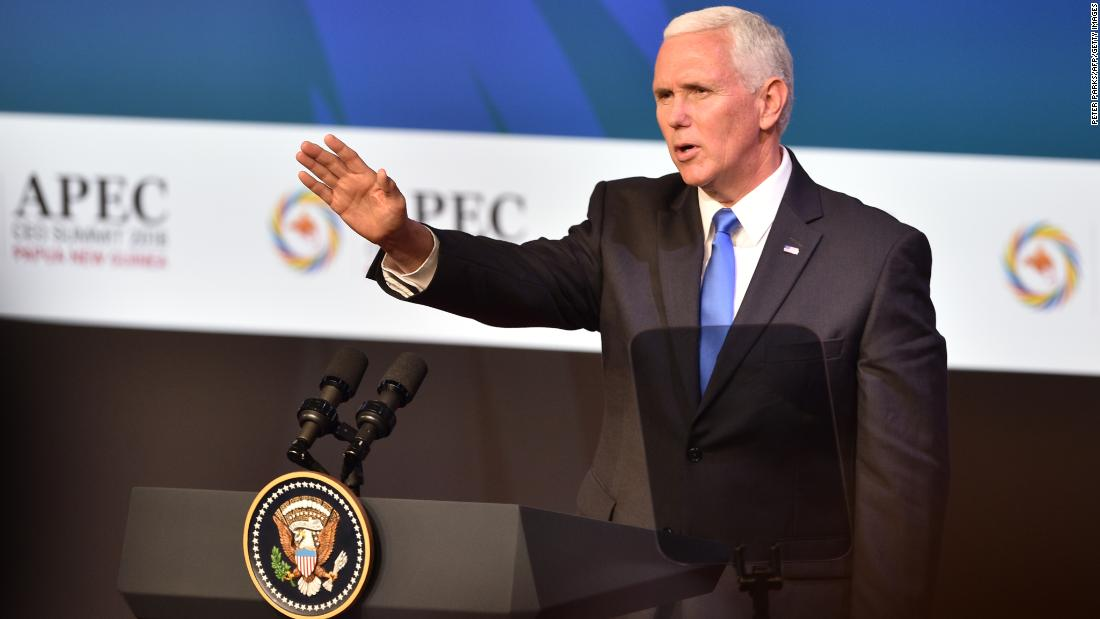 Image result for Mike pence, apec, photo
