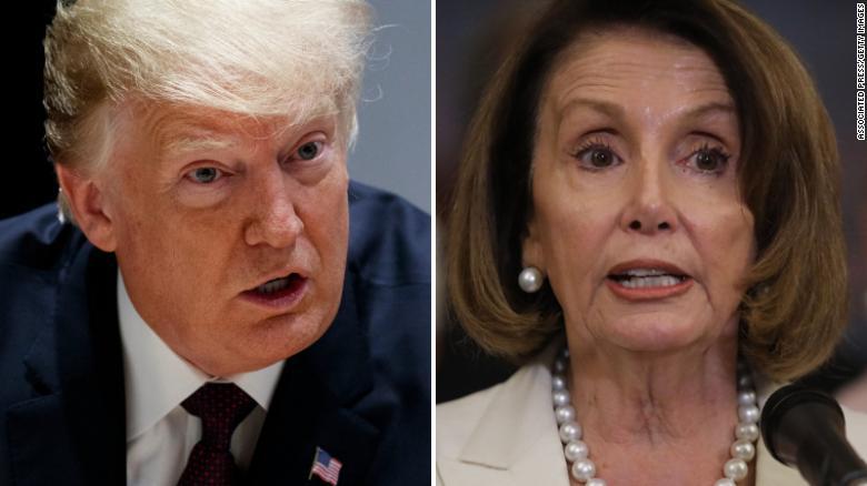 Image result for Childish spat masks era-defining duel between Trump and Pelosi