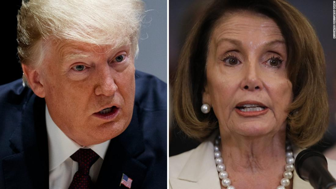 Donald Trump just dunked on Nancy Pelosi's CODEL and yes that is actually the headline