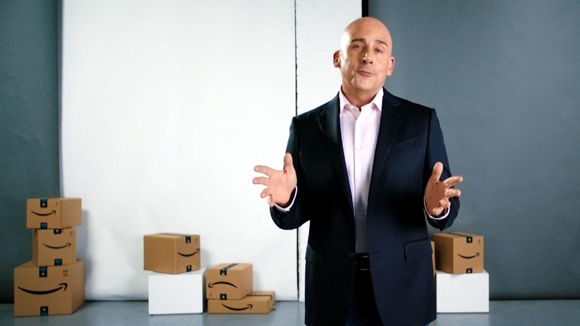 Steve Carell As Jeff Bezos Mocks Trump On Snl Cnn Video