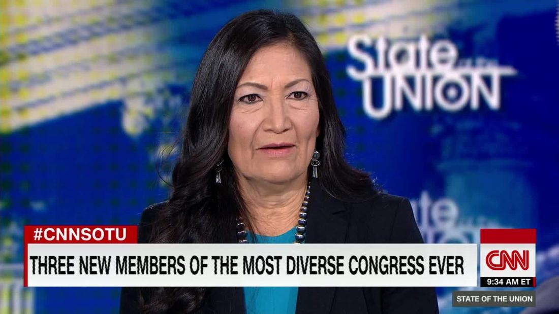Haaland reflects on diversity in new Congress