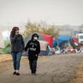 12 california wildfire tent city RESTRICTED