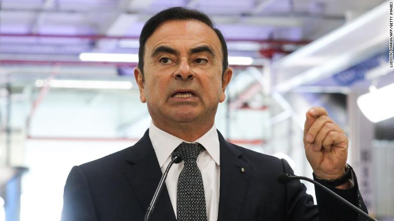 Nissan's Carlos Ghosn removed as chairman