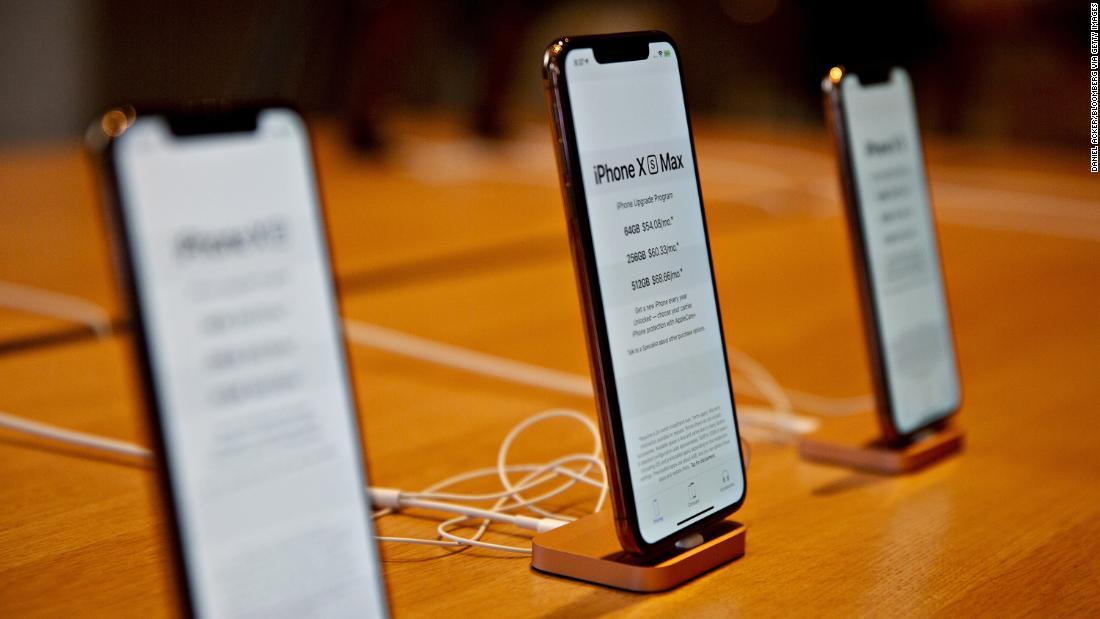 Apple falls on reports of weak iPhone demand