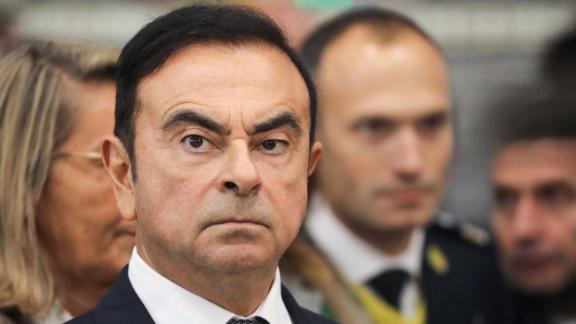 Carlos Ghosn at a Renault factory in France earlier this month. He oversees an alliance between the French automaker and Japan