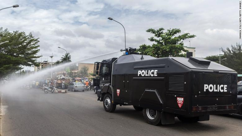 In the aftermath of the 2011 London riots police suggested the use of water cannon, as seen in this file photo, to deal with future social unrest.