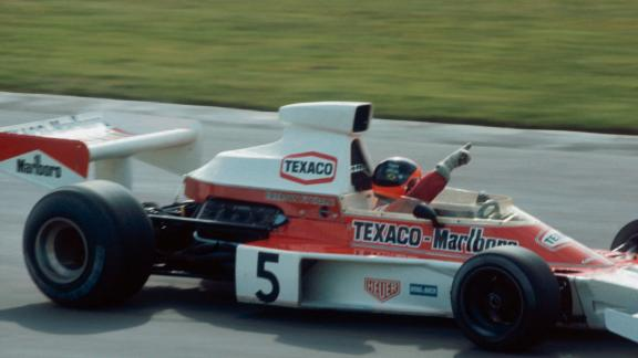 Strength, simplicity and integrity throughout the M23's wedge-shape design brought Emerson Fittipaldi the title in 1974...
