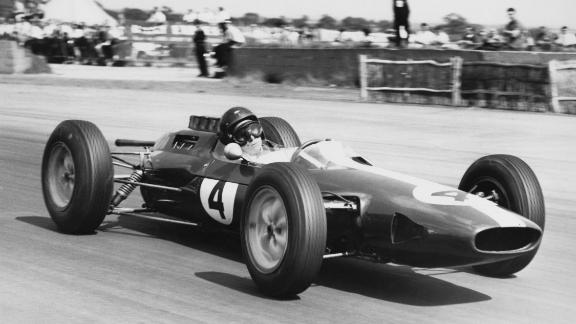 "Introduced halfway through 1962, the Lotus 25 revolutionized racing car construction with the ""monocoque"" chassis."