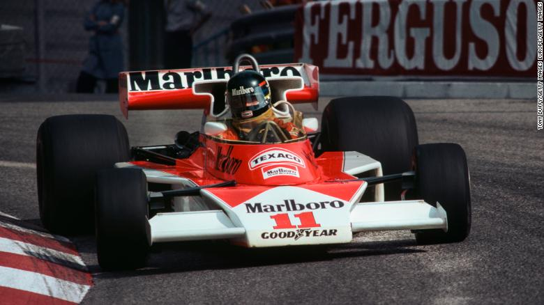 James Hunt took the Brazilian's seat and won the title two years later.