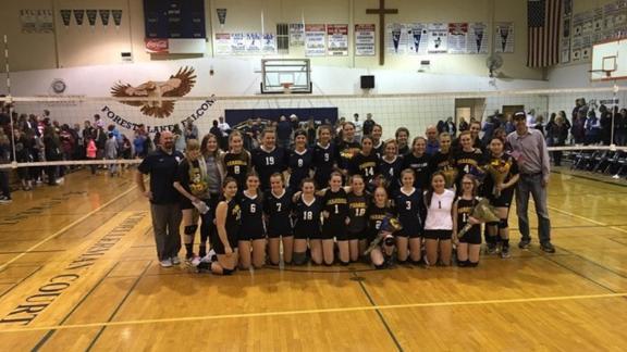 Paradise Adventist Academy Volleyball team