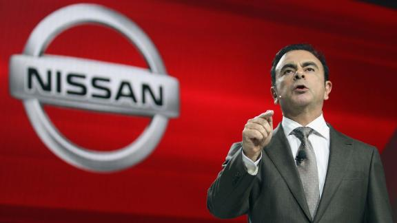 NEW YORK, NY - APRIL 04:  Nissan President and CEO Carlos Ghosn introduces the new 2013 Nissan Altima at the New York International Auto Show at the Jacob Javits Convention Center on April 4, 2012 in New York City. The New York International Auto Show features nearly 1,000 brand new vehicles from all auto industry sectors and is open to the public April 6-15.  (Photo by Mario Tama/Getty Images)