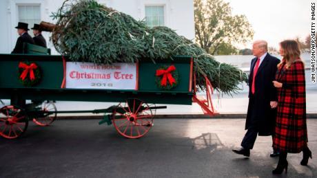White House Christmas Tree Arrives Cnnpolitics