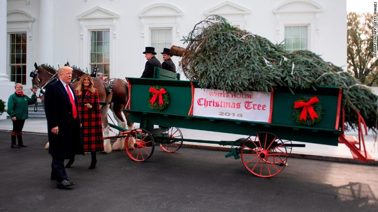 Christmas traditions continue at the White House while transition stalls