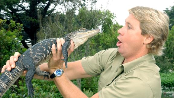 """Steve Irwin was known as the """"Crocodile Hunter."""" He died on September 4, 2006."""