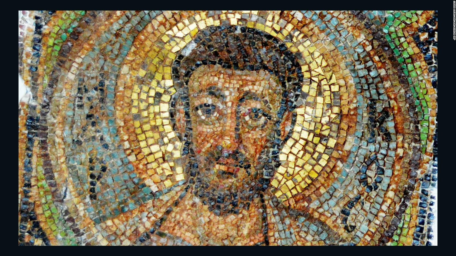 Missing 1,600-year-old mosaic returned to Cyprus after four