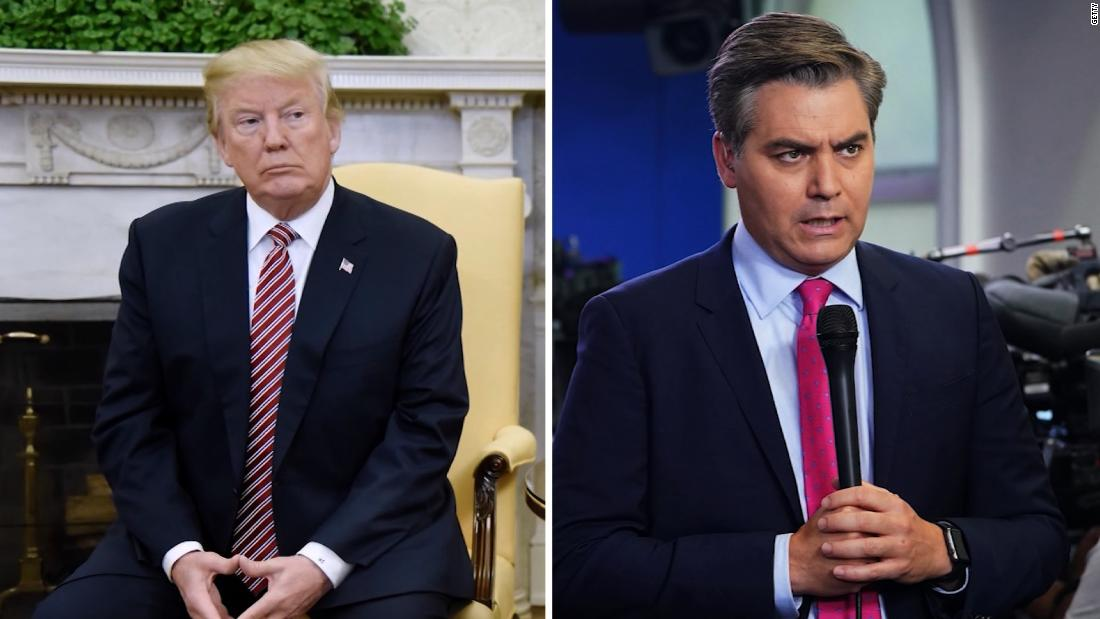 White House backs down from legal fight, restores Jim Acosta's press pass