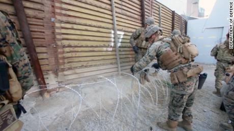 45-day extension of US troops' border mission is under discussion