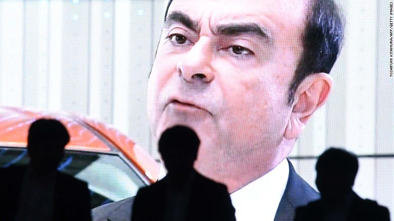 An icon of the auto industry, Ghosn is now in a Tokyo jail.