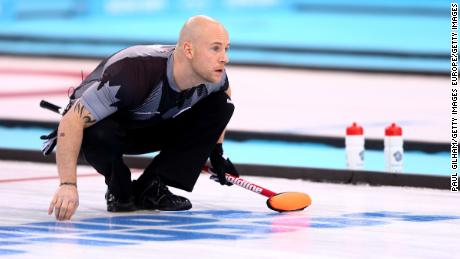 Fry won Olympic gold in 2014 as Canada beat Britain in the men's curling final.