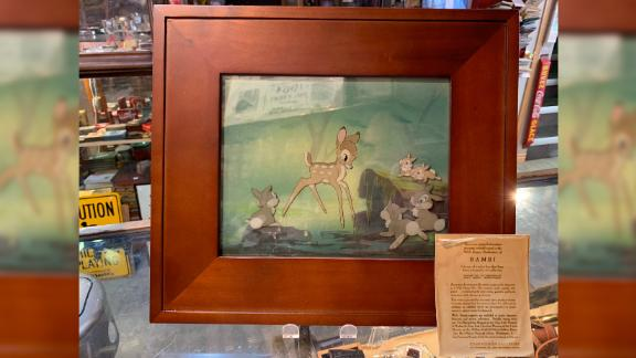 A homeless man found this 1937 animation cel from Disney