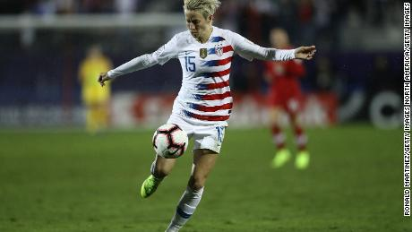 """""""It forced people at least to start to think about it, whatever your views are on it,"""" says Rapinoe of Kaepernick's protest."""