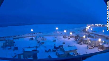 Utqiagvik, Alaska, experiences some last glimpses of daylight before starting 65 days of darkness.