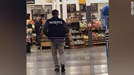 An anonymous man calling himself Santa picked up the tab for Walmart customers in Vermont