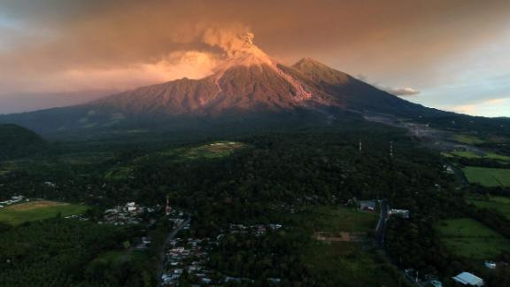 Volcán de Fuego, Guatemala: Close to 4,000 people were evacuated from their homes in November when Guatemala