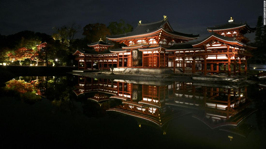 <strong>Uji, Japan</strong>: Byodoin Temple, built in the 10th century, is a Buddhist place of worship and a UNESCO World Heritage site. <br />