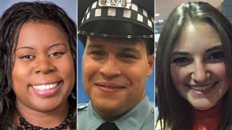Doctor, pharmacy resident and a police officer were the victims of the Chicago hospital shooting