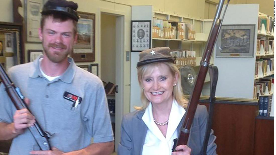 Image result for cindy hyde-smith confederate